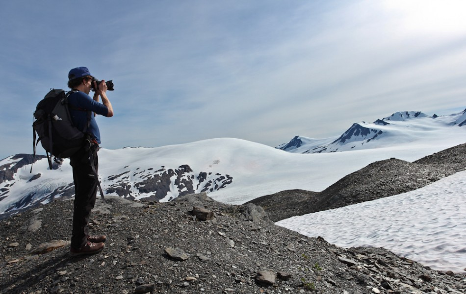 Shawn and Harding Ice Field