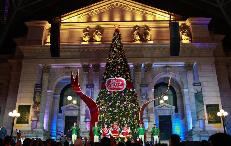 Christmas Show at Universal Studios